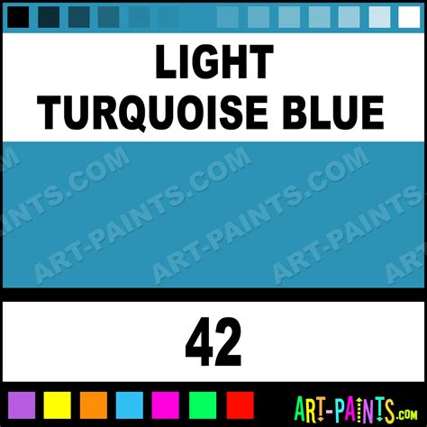 light turquoise blue pigment ink paints 42 light turquoise blue paint light