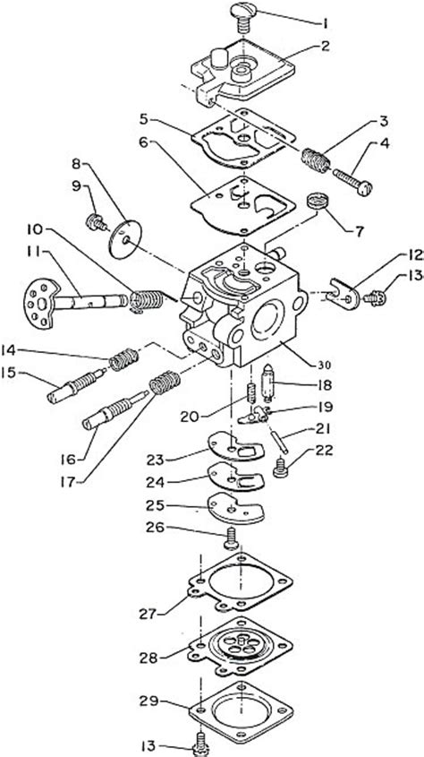 walbro carb diagram walbro carburetor schematic walbro get free image about