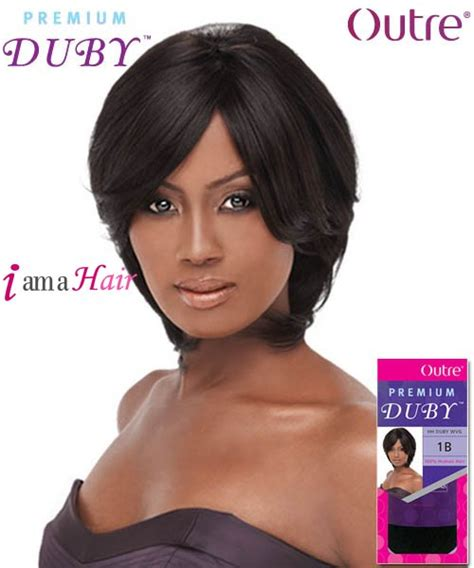 duby hairstyles outre human hair weave premium duby long hairstyles