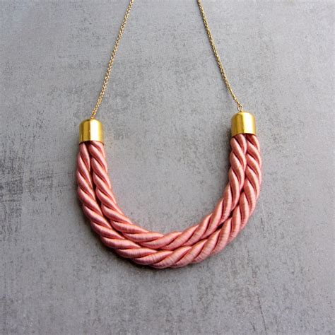 rope for jewelry silk pendant necklace thread cord necklace gold jewelry