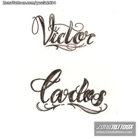 imagenes que digan victor dise 241 o de carlos v 237 ctor letras