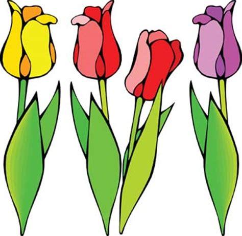 vorhänge clipart tulips clip cliparts co