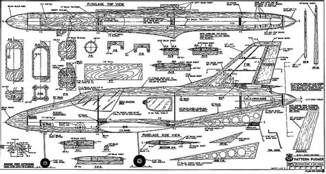 pattern airplane plans pattern pusher plans aerofred download free model