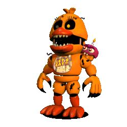 Adventure nightmare chica five nights at