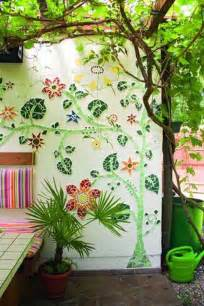 ideas mosaic wall:  stunning mosaic projects for your garden