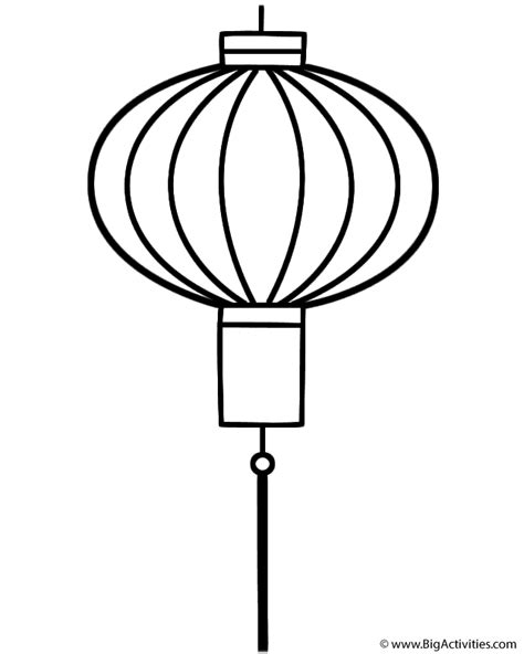 new year lantern colouring lantern coloring page new year