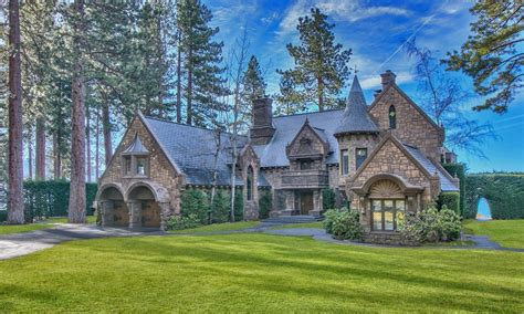 tahoe castle nevada s castle on lake tahoe once priced at 26 million