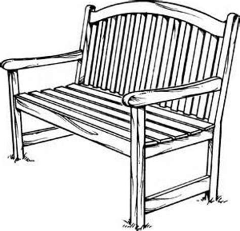 how to draw a park bench how to draw a bench yahoo canada image search results