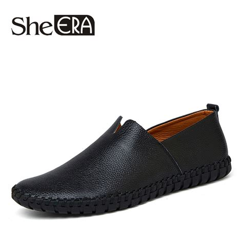 21882 Soft Casual 1 100 handmade genuine leather shoes breathable summer soft loafers casual zapatos hombre