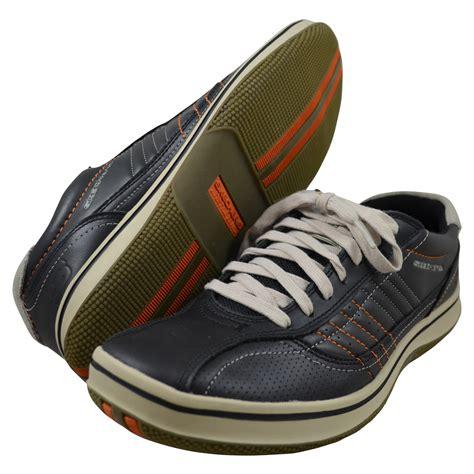 skechers sneakers mens skechers mens piers black fashion sneakers 50620 blk ebay