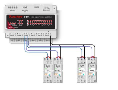 Dual 2 Axis Solar Tracker Controller Lengkap Sensor dual 2 axis tracker controller gridlink technologies