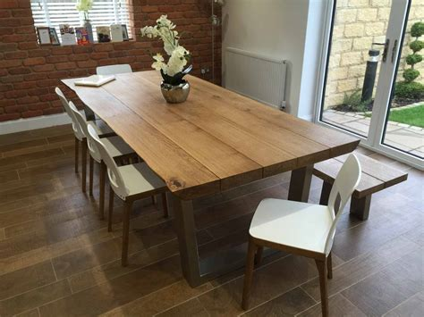 rustic dining table and chairs rustic oak dining table abacus tables