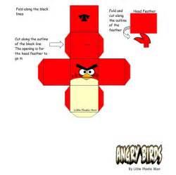 paper rendition angry birds diy techtrickz