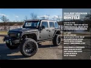 Jake Sweeney Jeep Cincinnati 2016 Custom Jeep Wrangler Hostile Spade