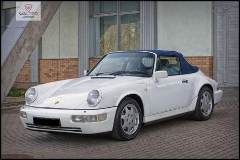 Porsche 911 Carrera 2 Cabrio by Porsche 911 Carrera 2 Cabrio 964 1991 205000 Pln Netto