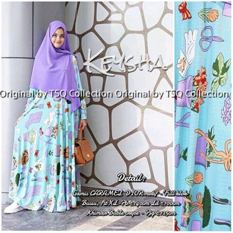 Gamis Muslim Syari Lavender Byk Warna baju muslim remaja keysha syar i gamis modern murah