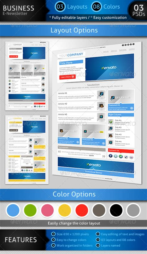 e newsletter templates 50 newsletter template design sixthlifesixthlife