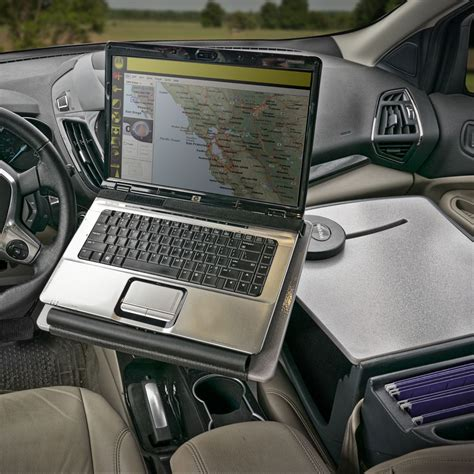 mobile car desk in auto exec mobile office