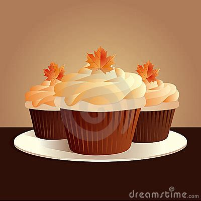 Thanksgiving Cupcakes Royalty Free Stock Photo - Image ... Free Clipart Cupcakes