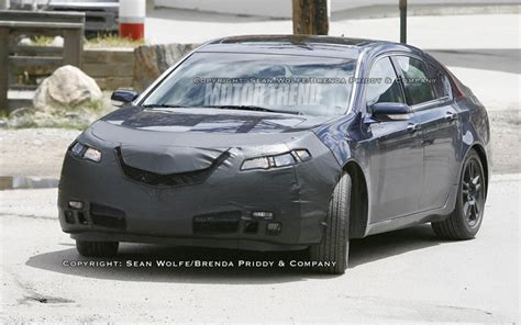 acura tl type s 2009 2009 acura tl spied vehicles motor trend