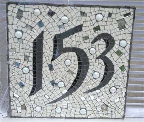 mosaic numbers pattern 183 best images about mosaic house numbers on pinterest