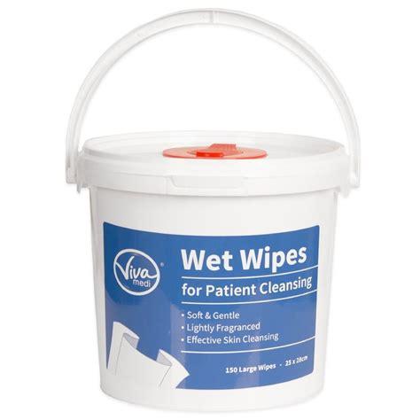 Viva Cleansing viva medi cleansing wipes tub of 150 large wipes