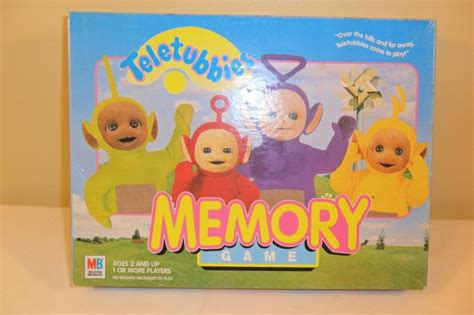 teletubbies cards 1999 teletubbies memory complete