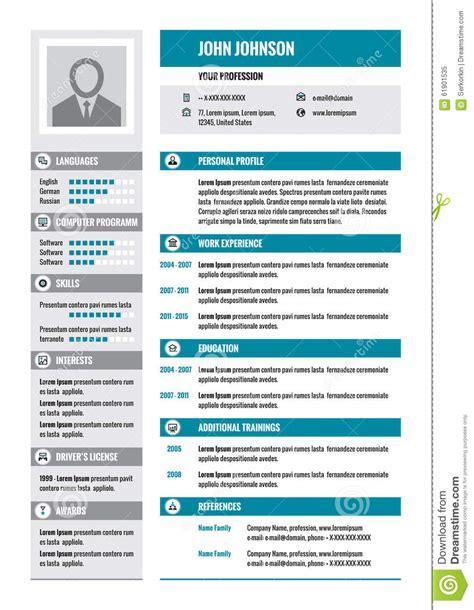 Lebenslauf Zusammenfassung Zusammenfassung Lebenslauf Vektorkonzeptplan Im Format A4 Gesch 228 Ftszusammenfassung
