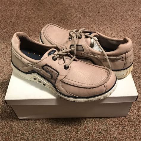 clarks banana boat shoes 56 off clarks other clarks mens boat shoe with box
