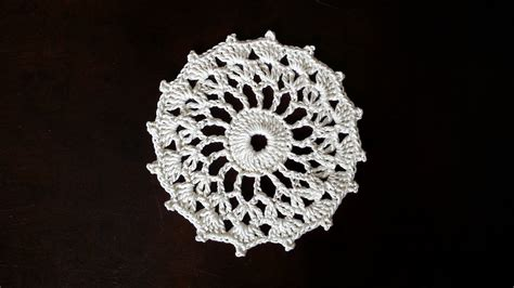youtube doily pattern crochet round motif sunshine mini doily pattern youtube