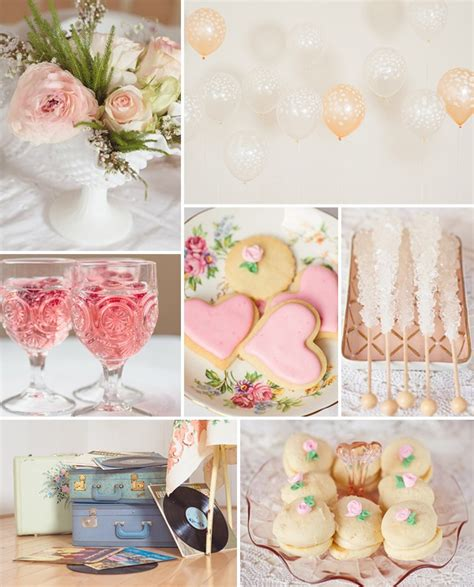 pink bridal shower decorations top 5 2014 trending girly vintage bridal shower ideas