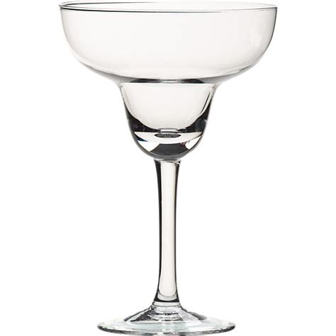 margarita glass margarita glasses for large and small drinks crate and