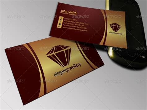 business cards for jewelry jewelry business card set by objectideas graphicriver