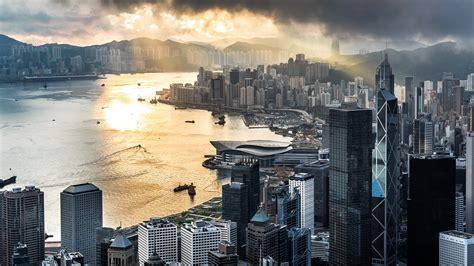morning  hong kong  victoria peak china windows