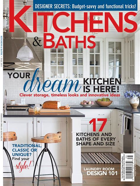 Kitchen Design Magazine Kitchen And Bath Design Magazine Peenmedia