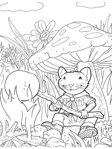 coloring page stuart little coloring pages 2