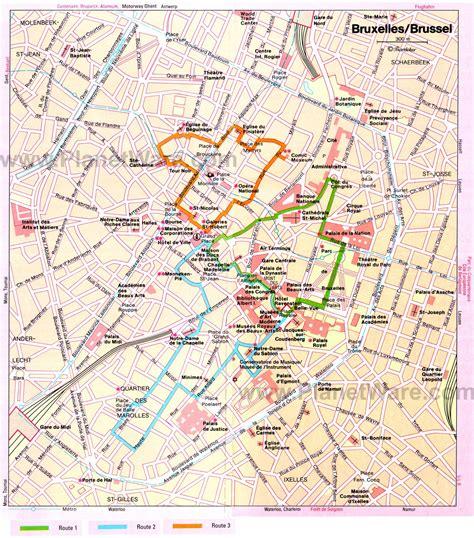 map brussels map of brussels brussels maps mapsof net