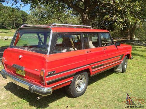 classic jeep wagoneer for sale jeep cherokee wagoneer truck v8 classic in paddington nsw