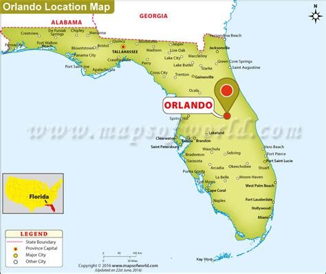 orlando on map of usa where is orlando florida where is orlando located in usa