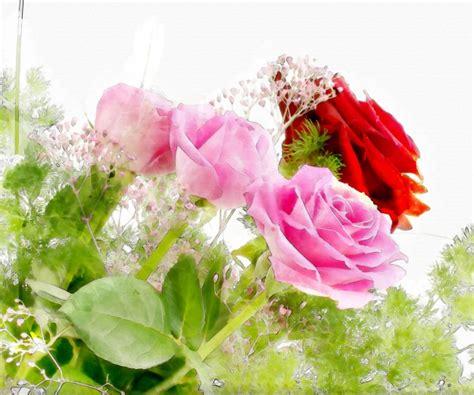 fiori immagini da scaricare fiori sfondo acquerello scaricare foto gratis