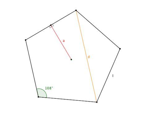 in un esagono regolare ciascun angolo interno misura area dell esagono e pentagono perimetro e apotema