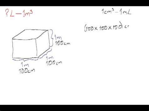 cuantos metros cuadrados tiene un metro cubico 191 cu 225 ntos litros hay en un metro cubico youtube
