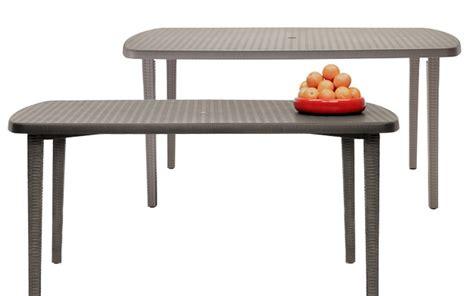 tavoli scab tavolo orazio di scab design cm160 in plastica ideale per