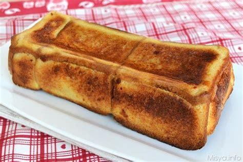 mozzarella in carrozza misya 187 cake di pane e mozzarella ricetta cake di pane e