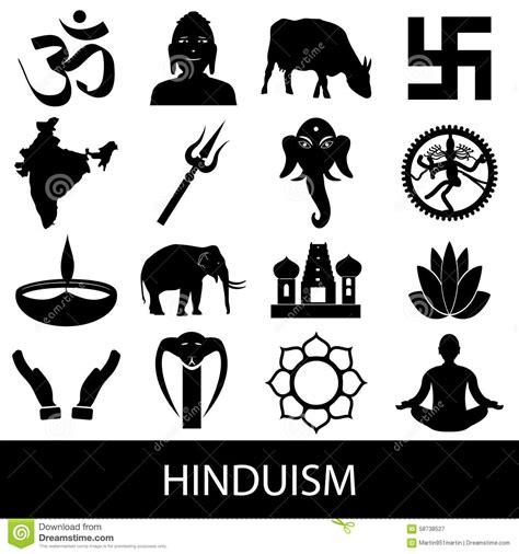 imagenes de simbolos hindues ensemble de vecteur de symboles de religions d hindouisme