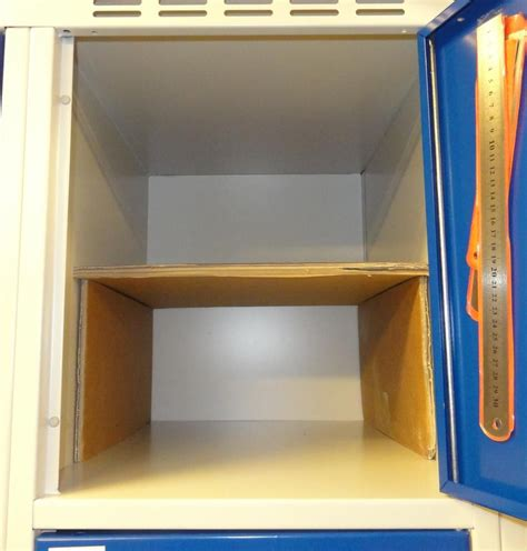 simple and cheap locker shelf
