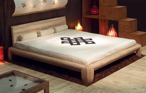 letti matrimoniali giapponesi letto matrimoniale tatami in legno maru letto
