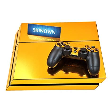 Ps4 Sticker Gold by Skinown 174 Ps4 Skins Golden Skin Gold Sticker Vinly Decal