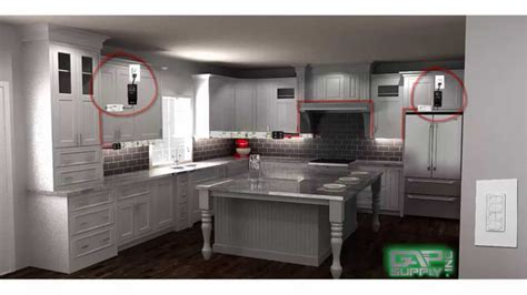 under cabinet lighting placement under cabinet lighting layout guide youtube
