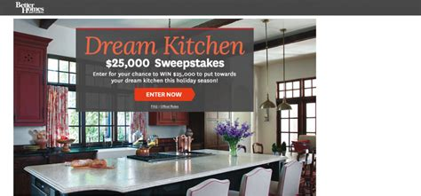 Bhg Giveaway - bhg com 25ksweeps bhg 25 000 dream kitchen sweepstakes